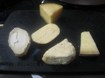 À la carte: Cheese selection