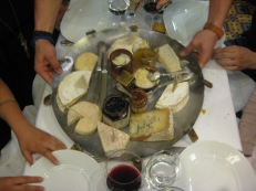 Prix-fixe menu: Cheese platter