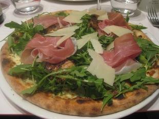 """Prize-winning """"Arlecchino"""" pizza"""