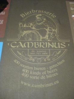 Bierbrasserie Cambrinus