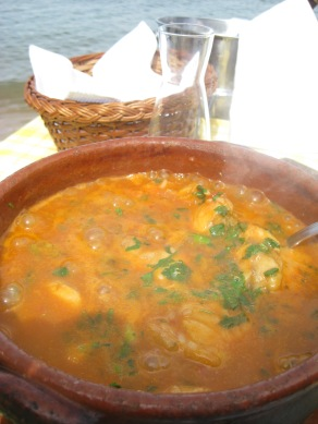 Arroz de Tamboril (rice with monkfish) for 2 people