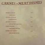 Casa Roberto menu: Meat