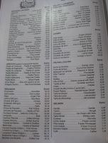 La Pepica menu