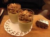 Petits pots de crème au praliné - Praline cream pot