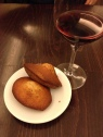 Complementary madeleines post meal